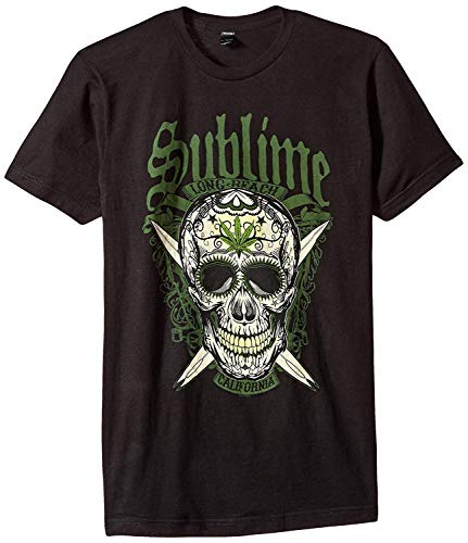 Xiriya Sublime LBC Skull Mens Soft T-Shirt Black