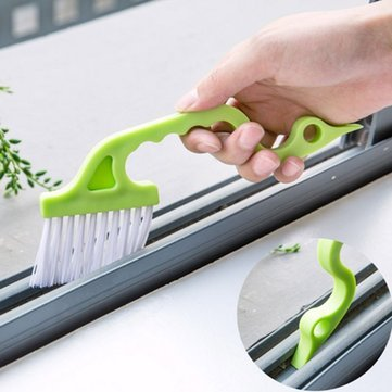 Cleansing Thicket Window Cleaning Brush Home Cleaning Supplies - Multi-Function Window Groove Cleaning Brush Keyboard Nook Cranny Dust Shovel Window Track Cleaning Tools - Light Touch - 1PCs by Unknown