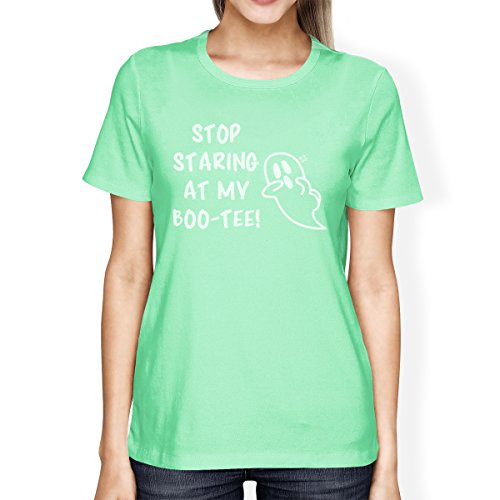 tee Ghost Stop My Taille shirt Manches T 365 Femme Boo Staring Courtes Printing Unique At OUZ8nn16