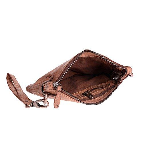 DuDu 580-1149-04, Borsa a spalla donna Marrone marrone compact
