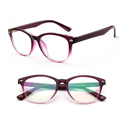 Misright Retro Eyeglasses Frame Full-Rim Men Women Vintage Glasses Eyewear Clear Lens New - Frames Eyeglass Hottest