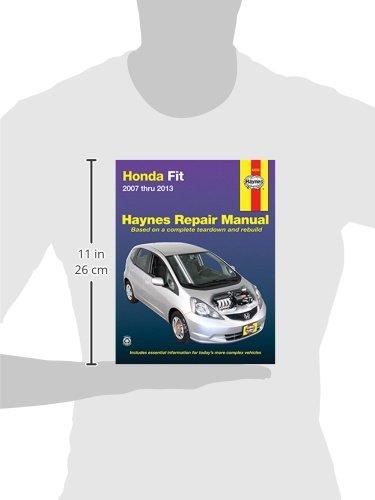 honda fit 2007 workshop manual