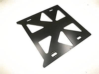 HEASEN 300x300mm Heated Bed Support Aluminum composit CNC Made Y Carriage Plate for Prusa i3