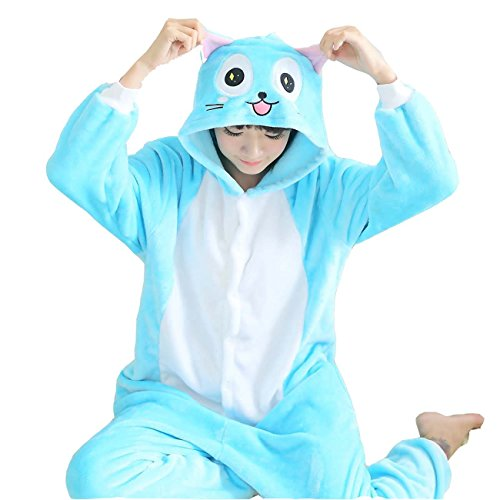 XMiniLife® Happy Sleepsuit Pajamas Onesie Costume (Fairy Tail Costumes)