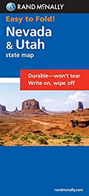Easy To Fold: Nevada & Utah (Easyfinder S)