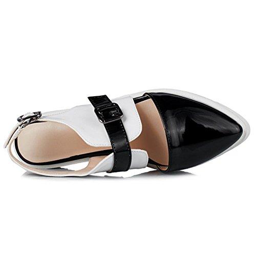 Coolcept Mujer Cerrado Bombas Zapatos Black