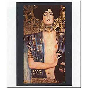 Gustav Klimt Judith I Art Print Poster - 20x28