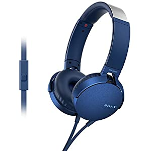 Sony Extra Bass Headphones MDR XB550AP 2020