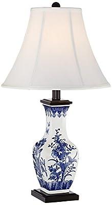 Benoit Blue and White Ceramic Table Lamp