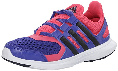 Image of the adidas Performance Hyperfast 2.0 K Running Shoe (Little Kid/Big Kid),Semi Night Flash/Purple/Navy/Pink,5.5 M US Big Kid