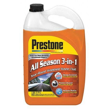 P-RE-STO-NE Original Deluxe 3-in-1 Windshield Washer/De-Bug/De-Icer/Water Repellent Bottle Fluid, 1 Gallon