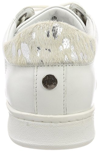 Nena white Monochrome Maruti Para B35 Zapatillas Leather Blanco Mujer zrqqPdwY