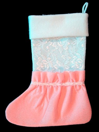 Baby bootie stocking with FREE embroidered name