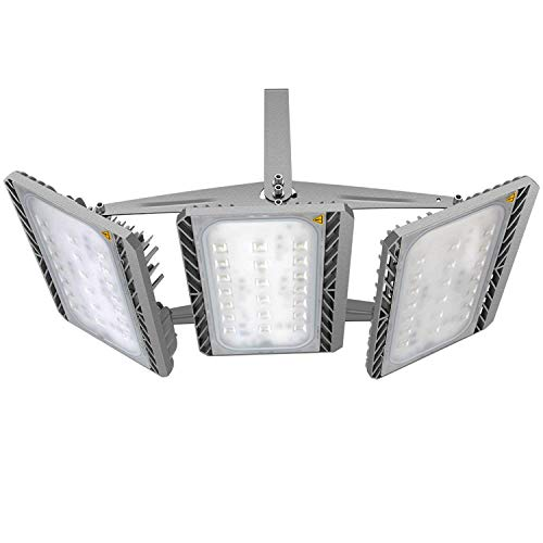 LED Flood Light Outdoor, STASUN 300W 27000lm LED Security Lights with Wider Lighting Area, 3000K Warm White, Built with CREE LED Source, Waterproof, Great for Street, Garage, Parking Lot Review