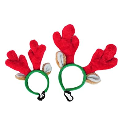 ZippyPaws Holiday Antler Headband - Dog Accessory from ZippyPaws