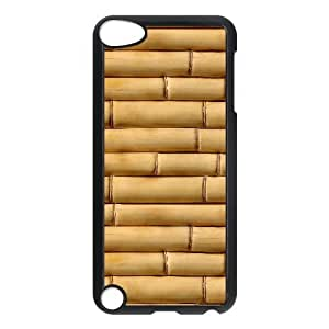 Ipod Touch 5 Case Bamboo Sticks Protector for Girls, Case for Ipod Touch 5g Stevebrown5v, [Black]