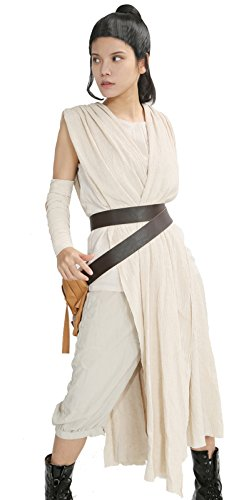 Star Wars Costumes For Women Rey Costume Cosplay Outfit