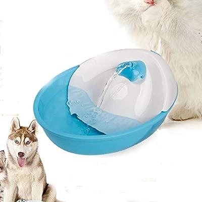 Cuenco Accesorio Dispensador para Mascotas Fuente de Agua Dulce ...