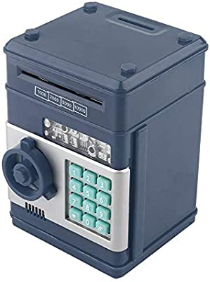 Caja de seguridad electrónica para guardar dinero con contraseña ...