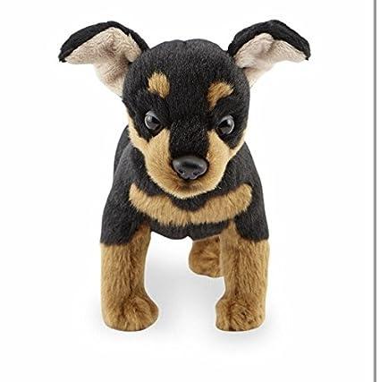 Amazon Com Fao Schwarz Miniature Pinscher Plush Toys Games