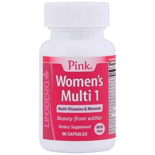 Pink Women's Multi 1 (90 Capsules, With Iron)