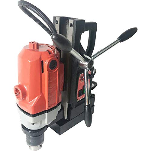 INTBYUING Magnetic Hollow Core Drill Magnetic Drill Press 110V 1100W