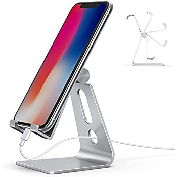3f12fb78c8f67 Amazon.com: Nulaxy Phone Stand, Adjustable Cell Phone Stand, Phone ...
