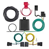 CURT 56329 Vehicle-Side Custom 4-Pin Trailer Wiring Harness for Select Ford, Lincoln, Mazda, Mercury Vehicles
