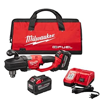 Milwaukee 2707-22HD M18 Fuel Hole Hawg 1/2 Right Angle Drill HD Kit