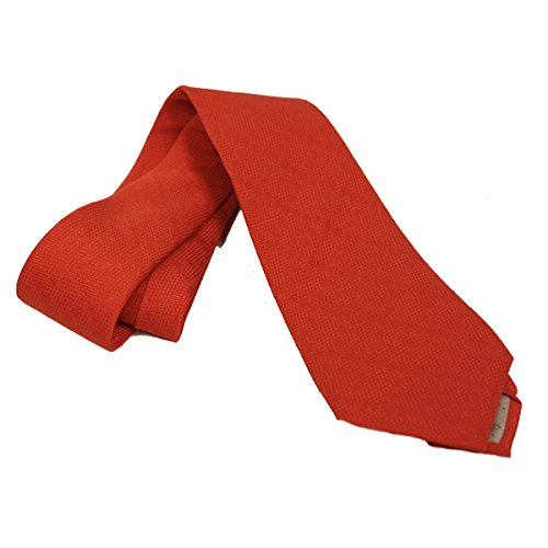 Gucci Woven Silk Men's Necktie 352943, Orange (Gucci Woven Tie)