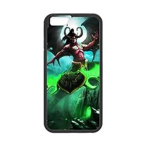 iphone6 4.7 inch phone case Black Illidan Stormrage World of Warcraft WOW KKD7813537