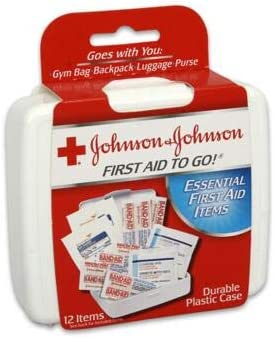 Johnson New 218362 First Aid to Go Kit (-Pack) Wholesale Bulk Health & Beauty Hour