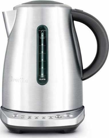 Breville BKE720BSS The Temp Select Electric Kettle, Silver (Breville Tea Kettle Cordless compare prices)