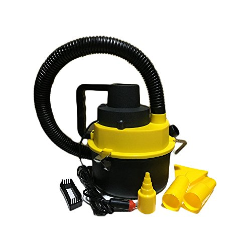 12V Wet Dry Vacuum Cleaner Inflator Portable Turbo Hand-Held for Car