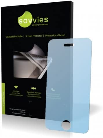 Protective Film Savvies Crystalclear Screen Protector for CECT i9+++ 100/% fits Display Protection Film