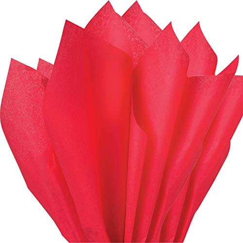 100 pc Mighty Gadget (R) Red Tissue Wrapping Paper - 15