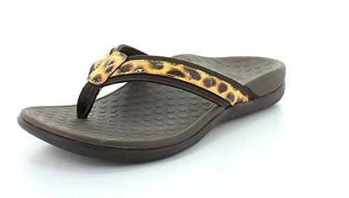 Vionic Women Tide Ii Brown Leopard