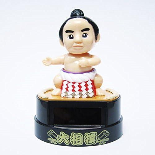 Solar Figurine Japanese Kabuki Sukeroku Actor