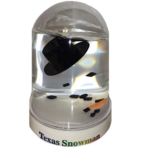 The Original Melted Snowman Snowglobe - Texas Snow Globe]()