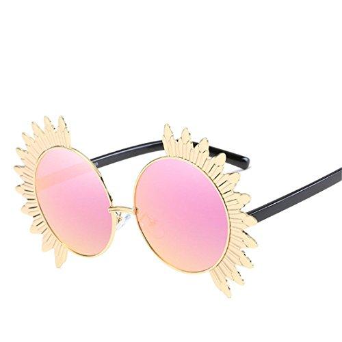 de Sol Las C Flor Gafas Moda Color de Film Sol de de GCC Personalizada Gafas D wIORqSOn