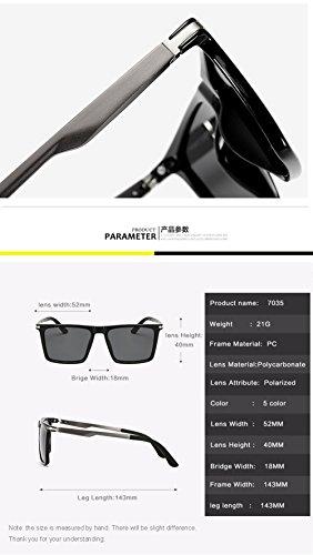 Sol Aviator Gafas Protección para Polarizadas para 400 Hombre D UV De Mujer E q5tntZW