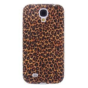 Elegant Leopard Print Pattern Soft Case for Samsung Galaxy S4 I9500