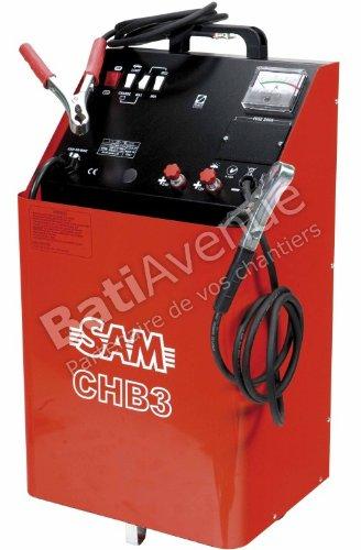 Sam outillage-CHB-3-Cargador arrancador de batería para ...