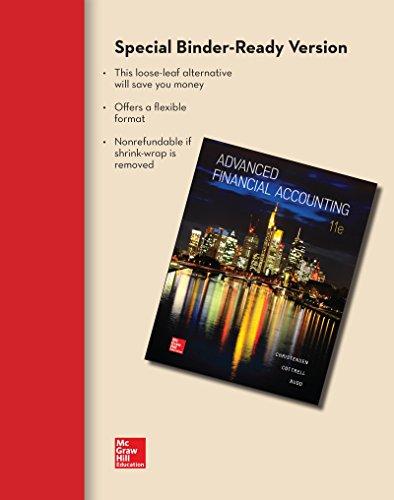 advanced accounting looseleaf - 8