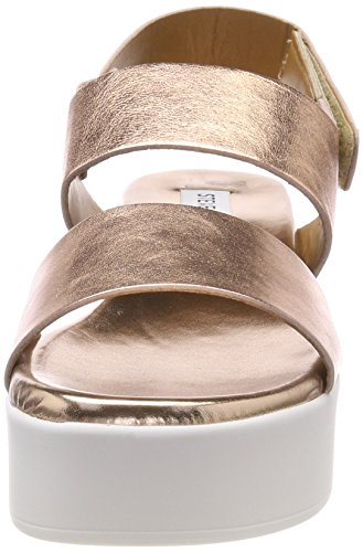 Gold Rose Madden Donna Oro Sandali Cinturino 15002 alla Caviglia Rachel Steve con U7wvzgqRw