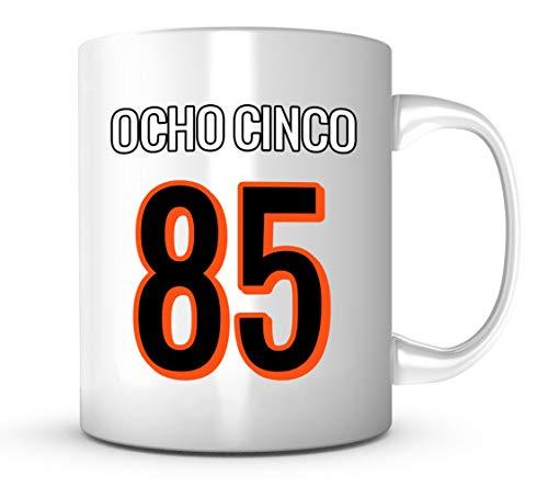 Ocho Cinco Mug - Jersey Number Football Coffee Cup