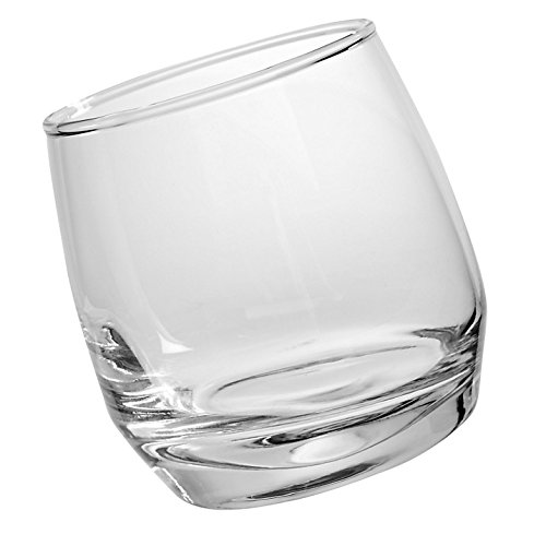 Sagaform 5015280 Bar, Rocking Whiskey Gläser 6er-Set 20cl