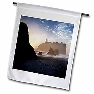 Danita Delimont - Beaches - Ruby Beach, Olympic National Park, Washington, USA - US48 RKL0016 - Raymond Klass - 18 x 27 inch Garden Flag (fl_96707_2)