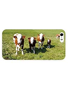 3d Full Wrap Case for iPhone 5/5s Animal Cows And Calves