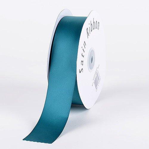 BBCrafts 1/4 inch x 100 Yards Satin Ribbon Single Face Decoration Wedding Party (Jade Green) Jade Satin Ribbon